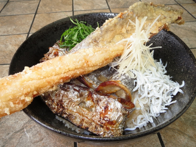 紀州 みのしま丼 1,200円