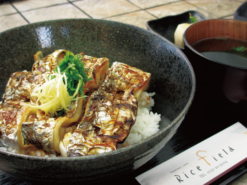 太刀魚浜焼き丼定食 700円
