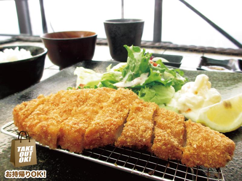 ロースかつ定食 1,200円